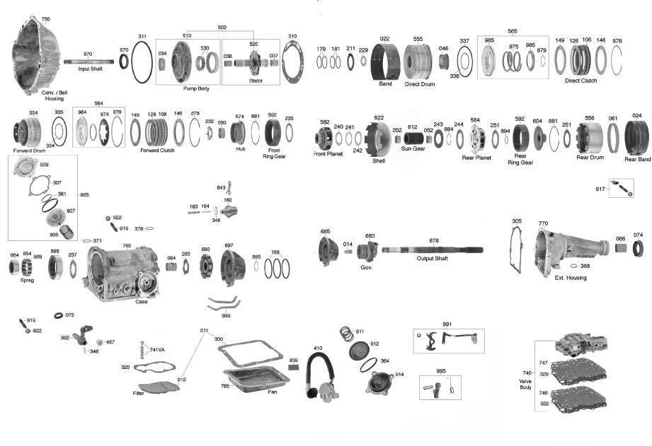 C 4 Transmission >> Ford C4 Diagram Wiring Diagram Dash